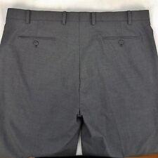 RRP $159.99 Alfani Men's Dress Pants Slim Fit Brown Sz W 41 x L 31.5