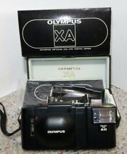 Olympus XA Rangefinder A11 Flash 35mm Film Camera