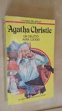 UN DELITTO AVRà LUOGO Agatha Christie Mondadori 1984 I classici del giallo 446
