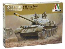 KIT ITALERI 1:35 MEZZO MILITARE T-55 IRAQI ARMY GUERRA DEL GOLFO ART 6540