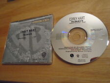RARE PROMO Corey Hart CD single Always RUBY TURNER Gerald Albright TOTO rock '92
