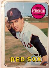 1969 Boston Red Sox Rico Petrocelli topps #215 MLB Baseball Card Bruins Patriots