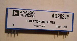 Circuit intégré Dispositifs Analogues AD202JY isolation amplificateur