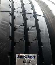 (4-Tires) 11R22.5 tires General S360 All Position 16 PR tire 11/22.5 USA 11225