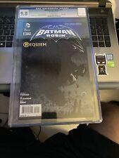 Batman & Robin #18 CGC 9.8 May/13 Silent Issue REQUIEM D of Robin Rare {CGCB1}