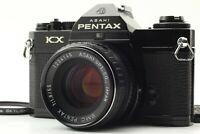 [Exc+5] Pentax KX Black SLR 35mm Film Camera 55mm f/1.8 Lens From JAPAN 266