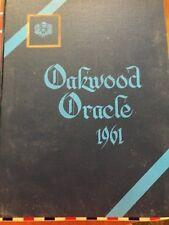 High School Yearbook OAKWOOD COLLEGIATE INSTITITUE 1960-1961 Toronto, Ontario