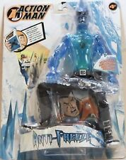 "ACTION MAN - ""ANTI FREEZE"" - FUNZIONI SPECIALI-HASBRO-cm. 30-Anno 2002"