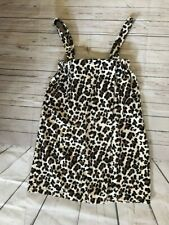 NWT Leopard Size L/XL Soft Plush Swimsuit Cover-Up Wrap Dress Skirt