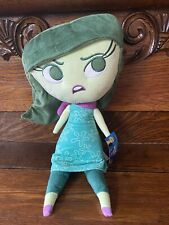 """Disney Inside Out 17"""" Large Plush Disgust Soft Stuffed Doll Pillow Bedroom Decor"""