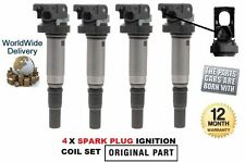 FOR BMW 520 525 528 530 E60 F10 06--> 4x IGNITION PENCIL SPARK COIL 12137559842