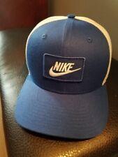 Nike unisex Snapback Sun Cap Blue/White