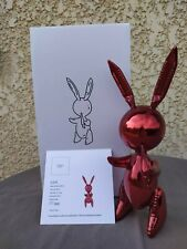 After Jeff Koons: Red Rabbit - Limited Edition