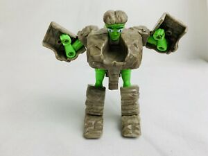 Vintage Rock Lords Marbles Gobots Transformer Figure Bandai 1986