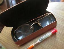 True Vtg 40s Eye Glasses 1/10 Gold Filled Wire Frame Semi Rim Specs FOR REPAIR