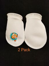"Two Pack 4"" Filter Socks 4"" x 8"" Felt 200 Micron sock Aquarium Reef Wet Dry Sump"