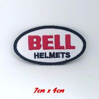 Bell Helmet Motorcycles Racing Biker Iron/Sew-on Embroidered Patch logo#201
