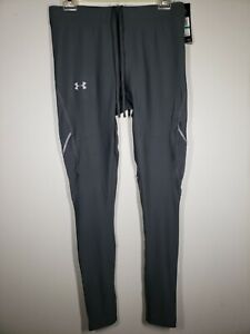 NWT Under Armour Men's Heatgear Run Mileage Compression Leggings Large