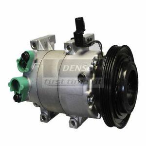 DENSO 471-6033 Compressor w/ Clutch For 10-11 Hyundai Accent