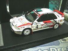 MITSUBISHI Lancer EVO Rallye Safari 1994 2. Place Shinozuka Highend HPI 1:43
