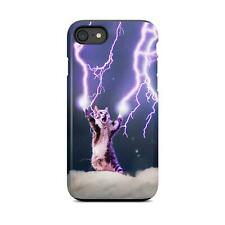 Lightning cat meme iPhone, samsung case, tough phone case