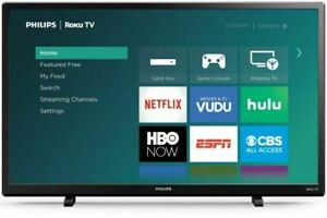 Philips TV 32-Inch Class HD (720P) Smart Roku LED Television NEW (FAST SHIPPING)