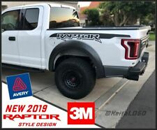 2019 2020 RAPTOR fender bedside logo graphics F150 F-150 vinyl decals fits: ford