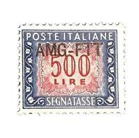 Italy - AMG Trieste, Postage Stamp, #J29 VF Mint NH OG, 1952 $115+