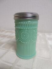 Jadeite Green Glass Sugar Shaker Reproduction MINT