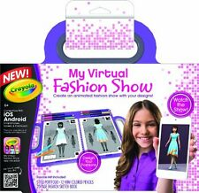 Crayola My Virtual Fashion Show , New, Free Shipping