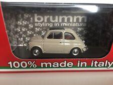 BRUMM 1:43 Fiat 500L chiusa 1968-1972 Beige Sabbia R465-09