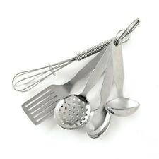 Norpro #3090D Stainless Steel Mini Kitchen Tool Ornament, Set of 5
