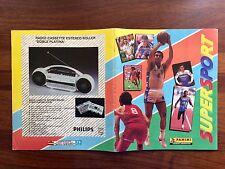 Álbum Panini Súpersport 1988 Maradona Michael Jordán Carl Lewis Ayrton Senna