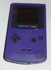 Gameboy Color - Purple Grape, Works Great, with battery cover