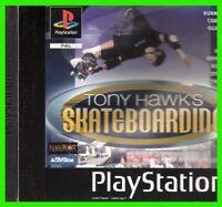 TONY HAWK's skateboarding playstation ITALIANO ps1 COMPLETO activision pal