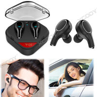 Mini Wireless Bluetooth 5.0 Earbuds With Mic Bass Twins Stereo Earphones Headset