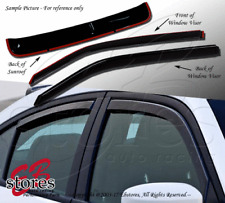 In-Channel Rain Guards Visor Top Sun roof Type 2 3pcs Ford Bronco II 1984-1990