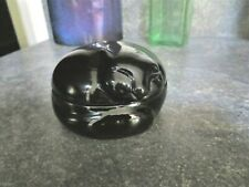 Tiffany & Co. Porcelain Black Cat Trinket Box