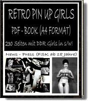 PDF- BILDBAND MIT 230 RETRO AKTFOTOS A4 Format.# für schwarz weiß Freaks #wow