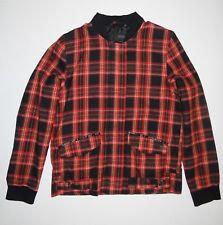 New Vans Womens Velouria Snap Up Fashion Street Casual Cotton Jacket Medium
