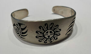 Armreif Sterling Silber 925 Indianer Zuni Hopi