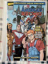 America'S Best Comics Sneak Preview Tom Strong Alan Moore Nm 1999 wizard comic