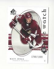 2005-06 SP Authentic #242 Matt Jones RC Rookie Coyotes /1999