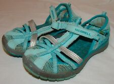 Merrell Girls Water Shoes Sandals 12M 12 Turquoise Beach Hydro Monarch