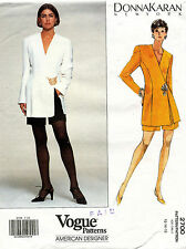 VOGUE Misses' Jacket & Shorts Donna Karan Pattern 2700 Size 12-16 UNCUT