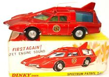 DINKY NO. 103 SPECTRUM PATROL CAR - RARE METALLIC RED - VN MINT AND BOXED