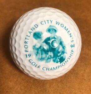1994 Portland City Women's Golf Championship Collectible Golf Ball, New Spalding