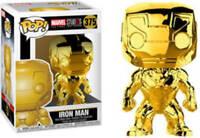 Marvel Studios The First Ten Years Gold Chrome Iron Man Funko Pop Vinyl