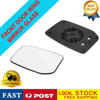 Right hand side for Ford Transit Custom 2000-2013 wing mirror glass + plastic