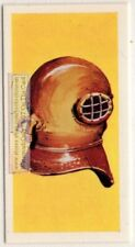 New listing Siebe's 1816 Open Diving Helmet Vintage Trade Ad Card
